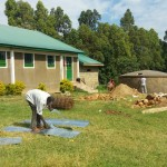 The Water Project: Ibinzo Girls Secondary School -  Artisan Making Gutters