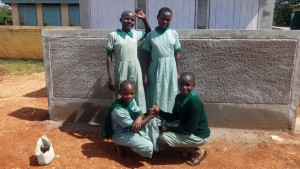 The Water Project : 16-kenya4677-finished-latrine