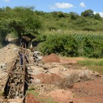 The Water Project: Ngaa Community -  Construction