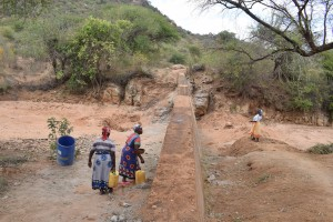 The Water Project : 16-kenya4772-finished-sand-dam