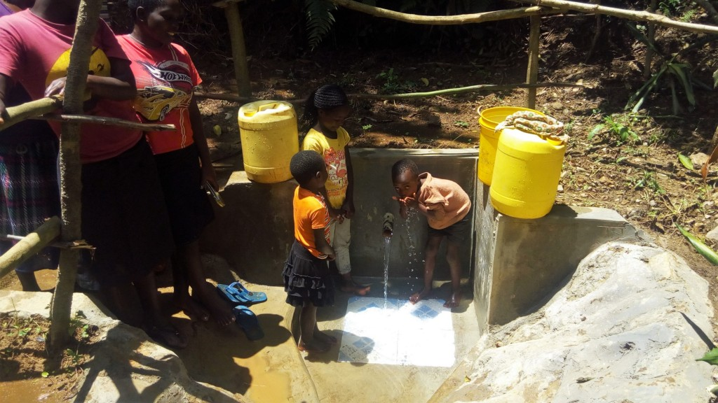 The Water Project : 16-kenya4845-clean-water