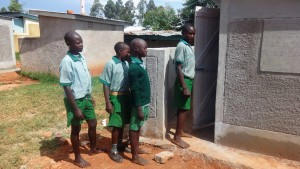 The Water Project : 17-kenya4677-finished-latrine