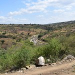 The Water Project: Kaani Community B -  Terracing