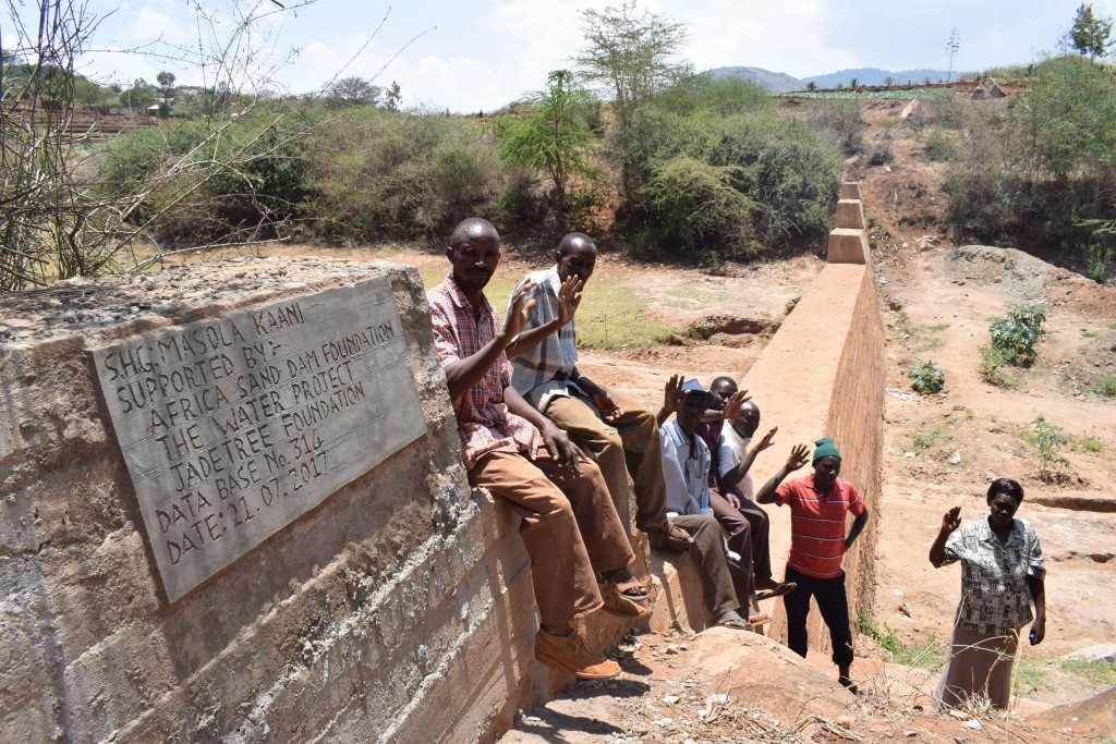 The Water Project : 17-kenya4770-finished-sand-dam