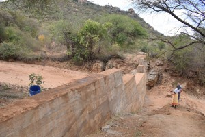 The Water Project : 17-kenya4772-finished-sand-dam