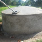 The Water Project: Ibinzo Girls Secondary School -  Finished Tank