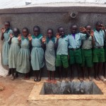 The Water Project: Emukangu Primary School, Butere -  Clean Water