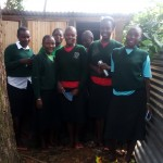 The Water Project: St. Kizito Lusumu Secondary School -  Latrine Management Training