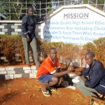 The Water Project: Lelmokwo Boys' Secondary School -  School Sign