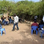 The Water Project: Kaani Community B -  Training