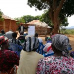 The Water Project: Kivani Community A -  Training