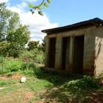 The Water Project: Kathama Community A -  Antony Mwaluko Latrines
