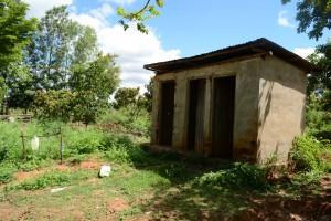 The Water Project:  Antony Mwaluko Latrines