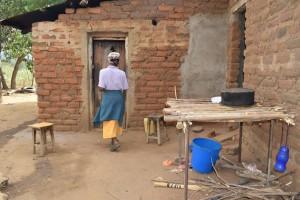 The Water Project : 2-kenya4769-josephine-kiilu-household