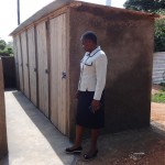 The Water Project: Ibinzo Girls Secondary School -  Finished Latrines