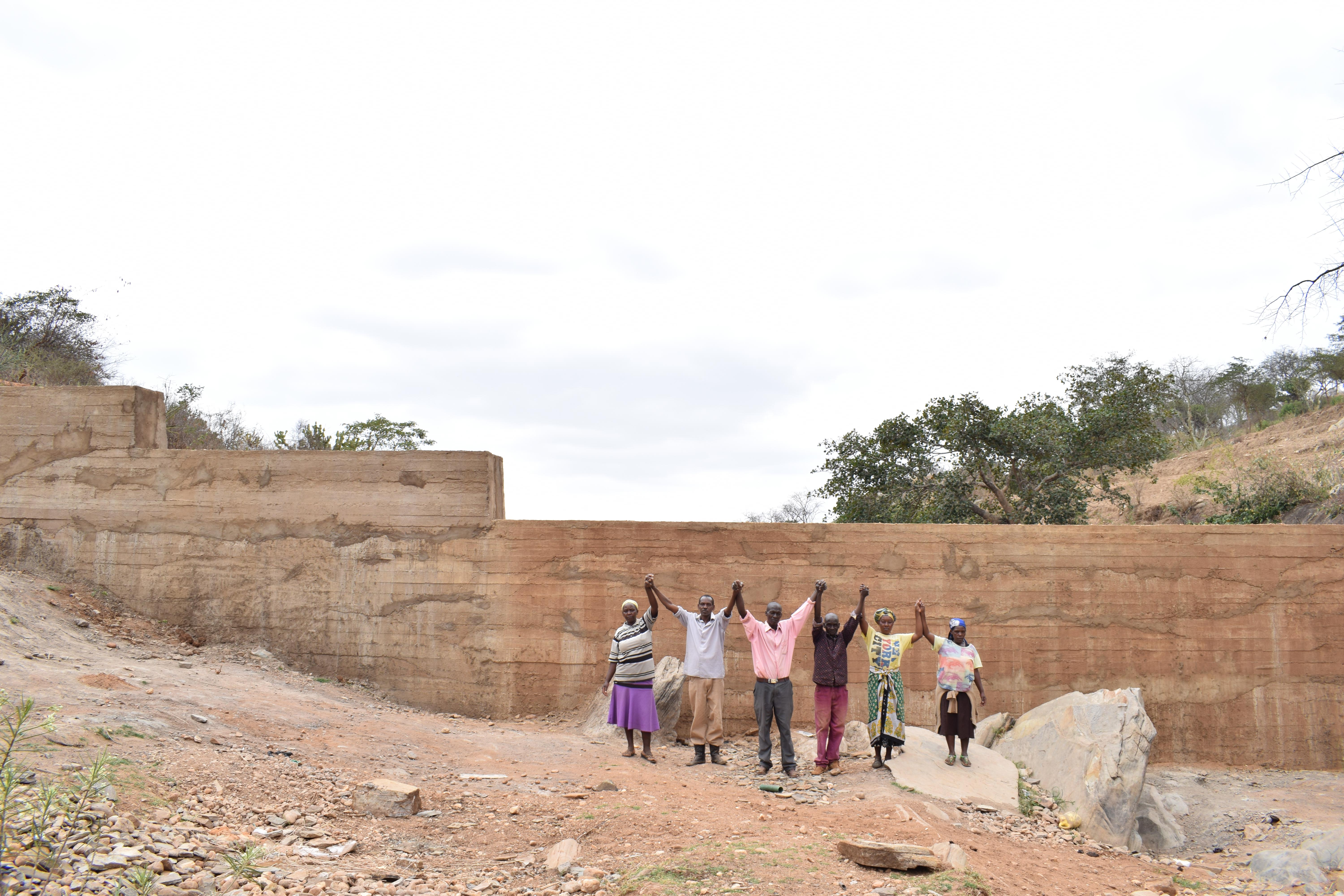 The Water Project : 21-kenya4761-finished-sand-dam