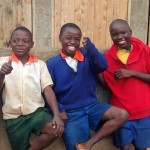 The Water Project : 22-kenya4674-finished-latrines