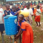 The Water Project: Essunza Primary School -  Hand Washing Station