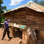 The Water Project: Kathama Community -  Antony Mwaluko Chicken Coop