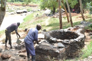 The Water Project : 3-kenya4778-well-construction-2