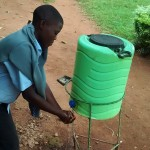 The Water Project: Ebukanga Secondary School -  Hand Washing