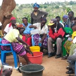 The Water Project: Kivani Community -  Training