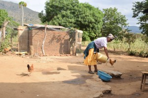 The Water Project:  Josephine Kiilu Household