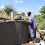 The Water Project : 4-kenya4785-well-construction