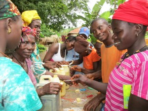 The Water Project:  Building Hand Washing Stations
