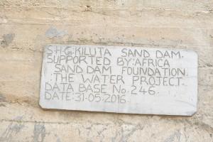 A Year Later: Kiluta Sand Dam