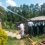 The Water Project: Ibinzo Girls Secondary School -  Tank Maintenance Training
