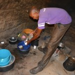 The Water Project: Kathama Community -  Mwaluko Household