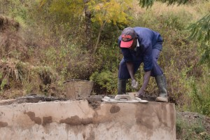 The Water Project : 5-kenya4778-well-construction