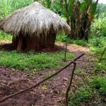 The Water Project: Katugo I-Alu Community -  Latrine