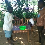 The Water Project: Mumuli Community, Shalolwa Spring -  Training