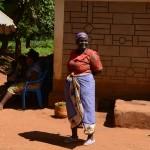 The Water Project: Kathama Community A -  Monica Mwikali