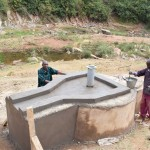 The Water Project: Kaani Community C -  Well Construction