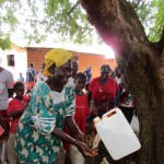 The Water Project: Kafunka Community -  Hand Washing