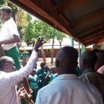The Water Project: Emurembe Primary School -  Tank Maintenance Training