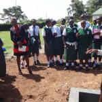 The Water Project: Ibinzo Girls Secondary School -  Tank Maintenance Training