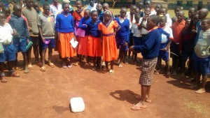 The Water Project : 7-kenya4674-solar-disinfection-demonstration