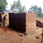 The Water Project: Eregi Mixed Primary School -  Latrine Construction
