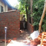 The Water Project: St. Kizito Lusumu Secondary School -  Latrine Construction