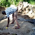 The Water Project: Bukhakunga Community -  Construction