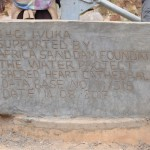 The Water Project: Kaani Community A -  Finished Well