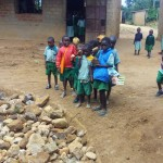 The Water Project: Eshilakwe Primary School -  Tank Construction