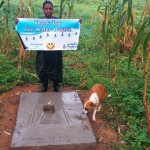 The Water Project: Bushevo Community -  Finished Sanitation Platform