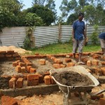 The Water Project: Ibinzo Girls Secondary School -  Latrine Construction