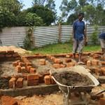 The Water Project: Ibinzo Girls Secondary School -  Latrine Construction