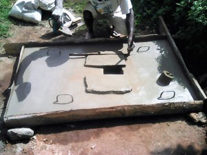 The Water Project : 9-kenya4728-sanitation-platform-construction